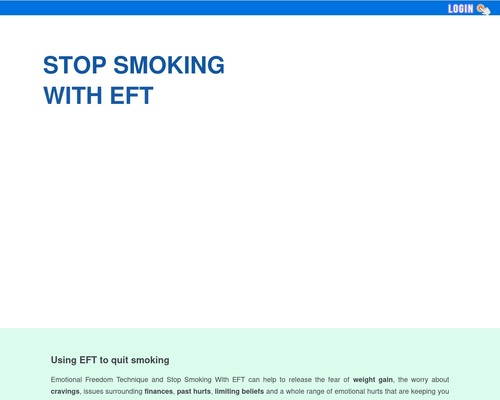 Quit Smoking With EFT - Stop Smoking With EFT Tapping Scripts