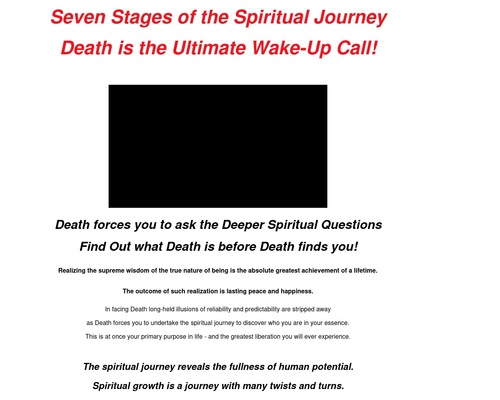Seven Stages of the Spiritual Journey