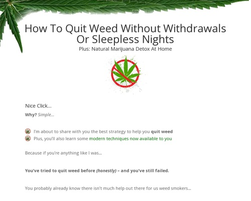 Quit Weed – Quit Weed With Tristan Weatherburn